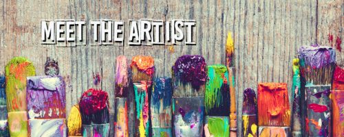 Meet the artist backgrnd